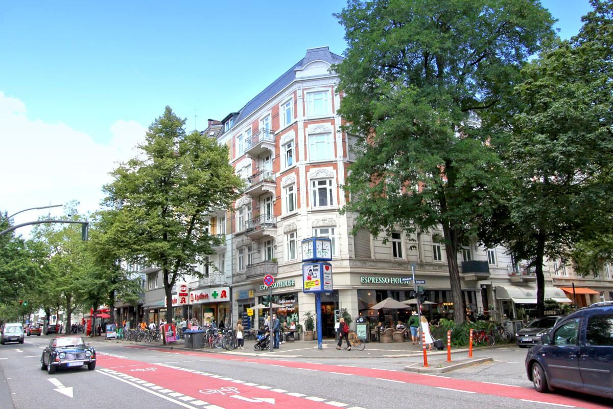WINTERHUDE - Mühlenkamp Ecke Gertigstraße
